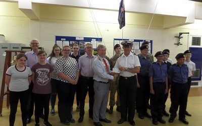 Sea Cadets reward for help with the clear up