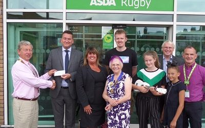 Thank you Rugby Area Talent Trust